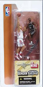 "NBA 3"" 2-Pack Series 1: Yao Ming & Tim Duncan"