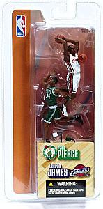 "NBA 3"" 2-Pack Series 1: Paul Pierce & Lebron James"