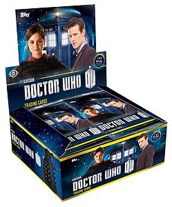 2014 Doctor Who Trading Cards Box