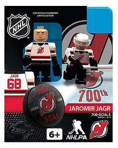 NHL Hockey Minifigures: Jaromir Jagr 700th Goal Exclusive Limited Edition(New Jersey Devils)