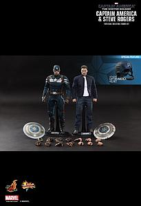 Captain America and Steve Rogers 2-Pack (MMS243)