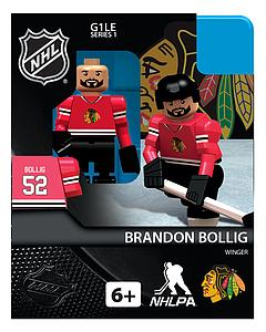 NHL Hockey Minifigures: Brandon Bollig (Chicago Blackhawks)