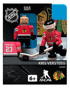 NHL Hockey Minifigures: Kris Versteeg (Chicago Blackhawks)