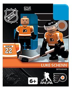 Hockey Minifigures: Luke Schenn (Philadelphia Flyers)