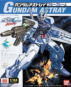 Gundam Seed 1/144 Scale Model Kit: Gundam Astray (Blue)