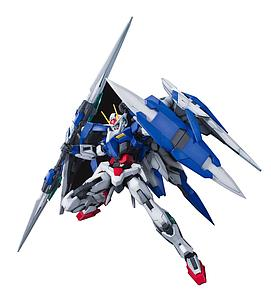 Gundam Master Grade Gundam 00 1/100 Scale Model Kit: GN-0000+GNR-010 00 Raiser
