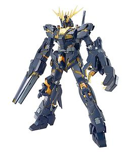 Gundam Master Grade Gundam Unicorn 1/100 Scale Model Kit: RX-0 Unicorn Gundam 02 Banshee
