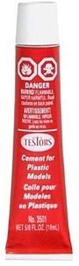 TESTORS Cement Glue for Plastics Models (5/8oz / 18ml) (TES3501)