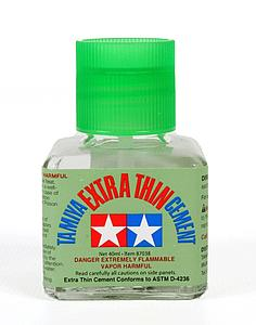 Tamiya Extra-Thin Cement Glue For Plastic Model Kits (TAM87038)