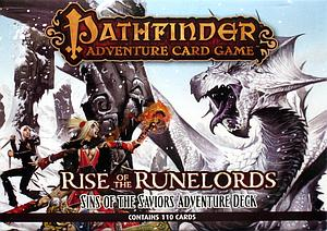 Pathfinder Adventure Card Game: Rise of the Runelords - Sins of the Saviors Adventure Deck