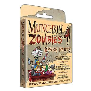 Munchkin: Munchkin Zombies 4: Spare Parts