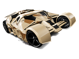 Hot Wheels HW City Die-Cast: The Tumbler - Camouflage Version (63/250)