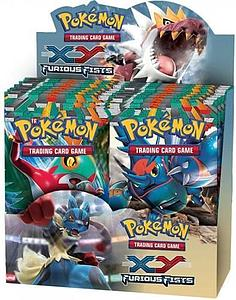 Pokemon Trading Card Game: XY Furious Fists Booster Box (36 Packs)