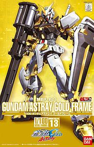 Gundam Seed 1/100 Scale Model Kit: Astray (Gold Frame)