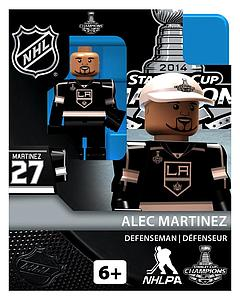 Hockey Minifigures: Alec Martinez - Stanley Cup Champions (Los Angeles Kings)