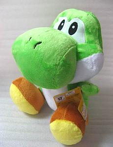 "Super Mario Bros Plush Yoshi Green (12"")"
