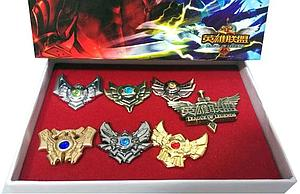 League of Legends 7-Piece Set: Rank Pins