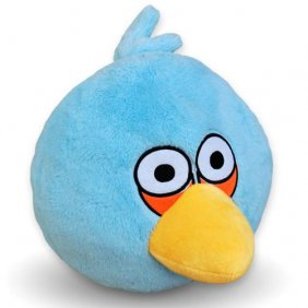 Plush Toy Angry Birds 12 Inch Blue Bird