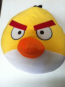 "Plush Toy Angry Birds 14"" Yellow Bird"