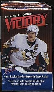 2011-12 Victory NHL Hockey Cards Booster Pack