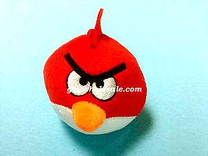 Plush Toy Angry Birds 3 Inch Red Bird
