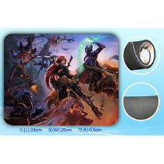 League of Legends Mouse Pad: Promotional Piece
