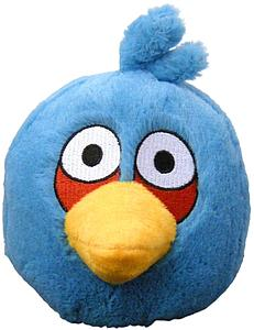 "Plush Toy Angry Birds 5"" Blue Sound Bird"