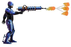 Retro Video Game Series Robocop vs Terminator Series 2: Robocop (Flamethrower)