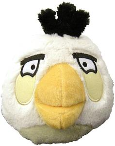 Plush Toy Angry Birds 5 Inch White Sound Bird