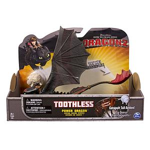 Spin Master How to Train Your Dragon 2 Power Dragon: Toothless (Catapult Tail)