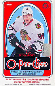 2013-2014 NHL Upper Deck O-Pee-Chee Hobby Box