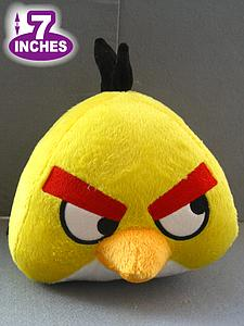 Plush Toy Angry Birds 7 Inch Yellow Bird