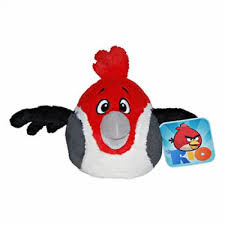 "Plush Toy Angry Birds 8"" RIO Pedro with sound"