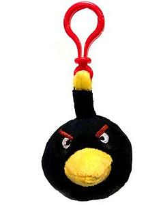 Plush Toy Angry Birds Black Bird Clip