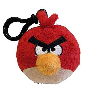 Plush Toy Angry Birds Red Bird clip