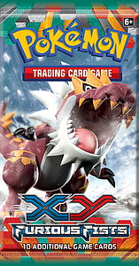 Pokemon Trading Card Game: XY Furious Fists Booster Pack