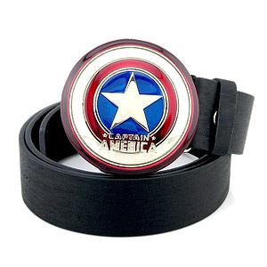 Marvel Belt Captain America Shield