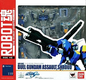 Gundam Robot Spirits Damashii Model Kit: #119 Duel Gundam Assault Shroud