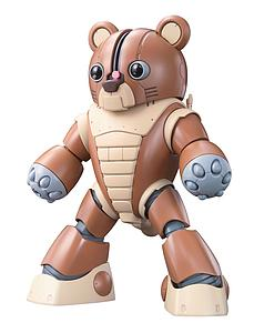 Gundam High Grade Gunpla Builders 1/144 Scale Model Kit: GPB-04B Beargguy