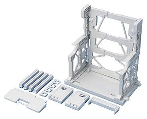 Gundam Model Kit: Builders Parts System Base (White)