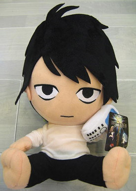 "Plush Toy Death Note 12"" L Sitting"