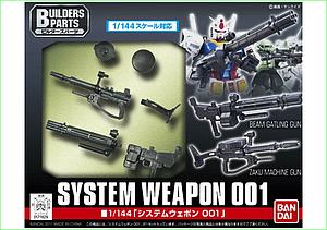 Gundam High Grade Gundam Build FIghters 1/144 Model Kit: System Weapon 001