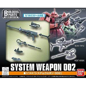 Gundam Build FIghters 1/144 Model Kit: System Weapon 001