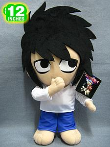 "Plush Toy Death Note 12"" L Standing"
