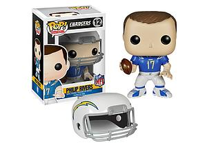 Pop! Football NFL Vinyl Figure Philip Rivers (San Diego Chargers) #12 (Vaulted)