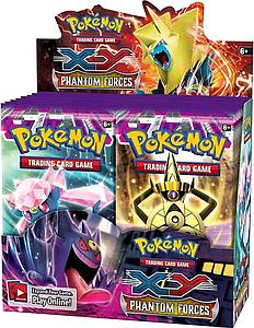 Pokemon Trading Card Game: XY Phantom Forces Booster Box (36 Packs)