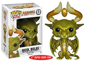 "Pop! Magic The Gathering Vinyl Figure 6"" Nicol Bolas #12 (Retired)"