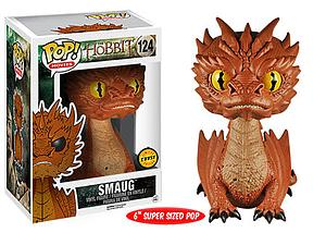 "Pop! Movies The Hobbit The Battle of the Five Armies Vinyl Figure 6"" Smaug #124 (Chase)"