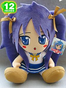 Plush Toy Lucky Star 12 Inch Kagami Sitting