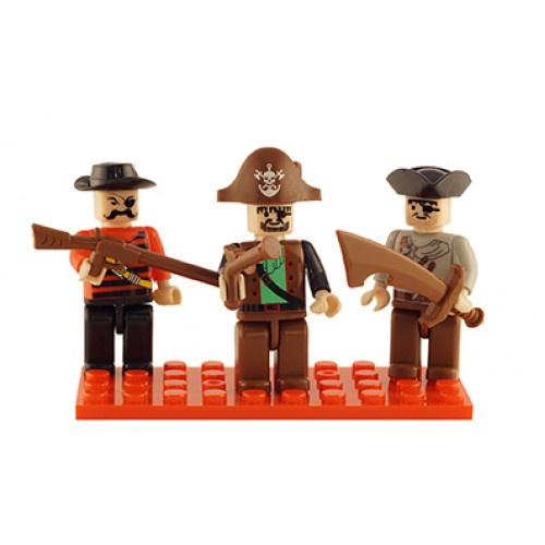 Brictek 3-Pack Set: Pirates